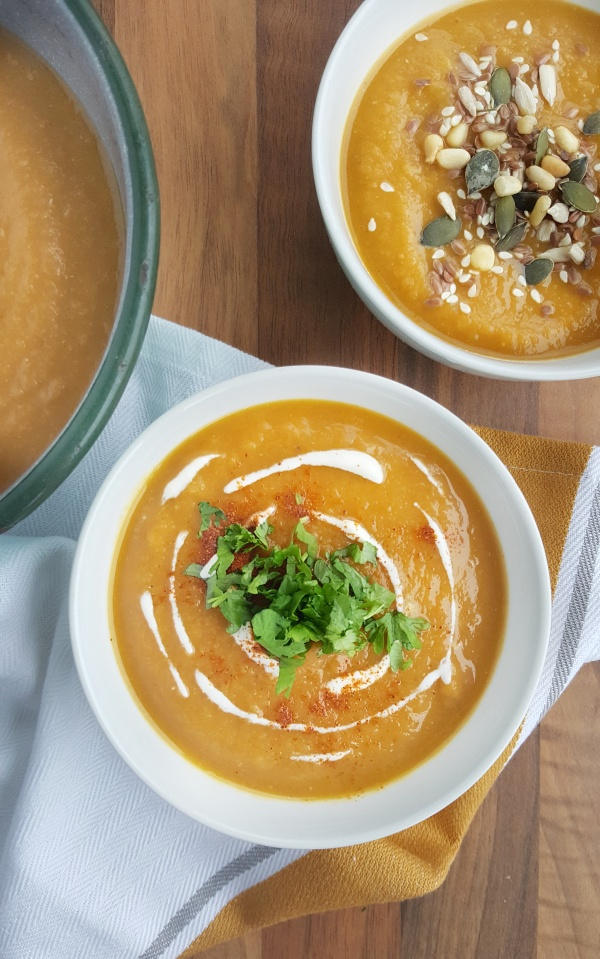 Red Lentil & Carrot Soup; Delalicious