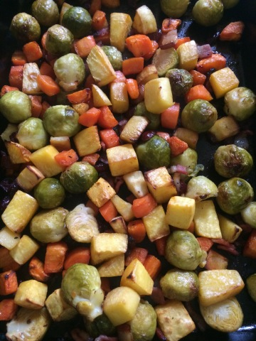 Roast Brussel Sprouts