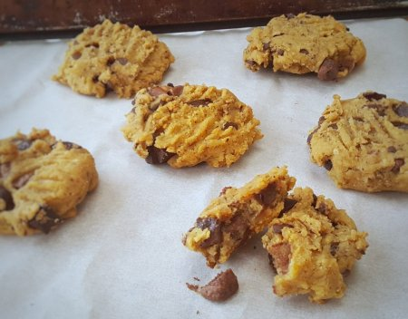 Chocolate Chip Chickpea Cookies, Delalicious