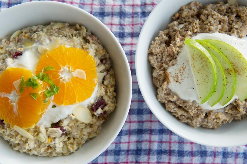 Muesli, oats, breakfast, nuts