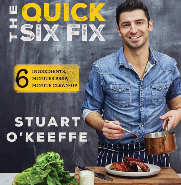 Chef Stuart O'Keeffe, Delalicious, interview, cookbook