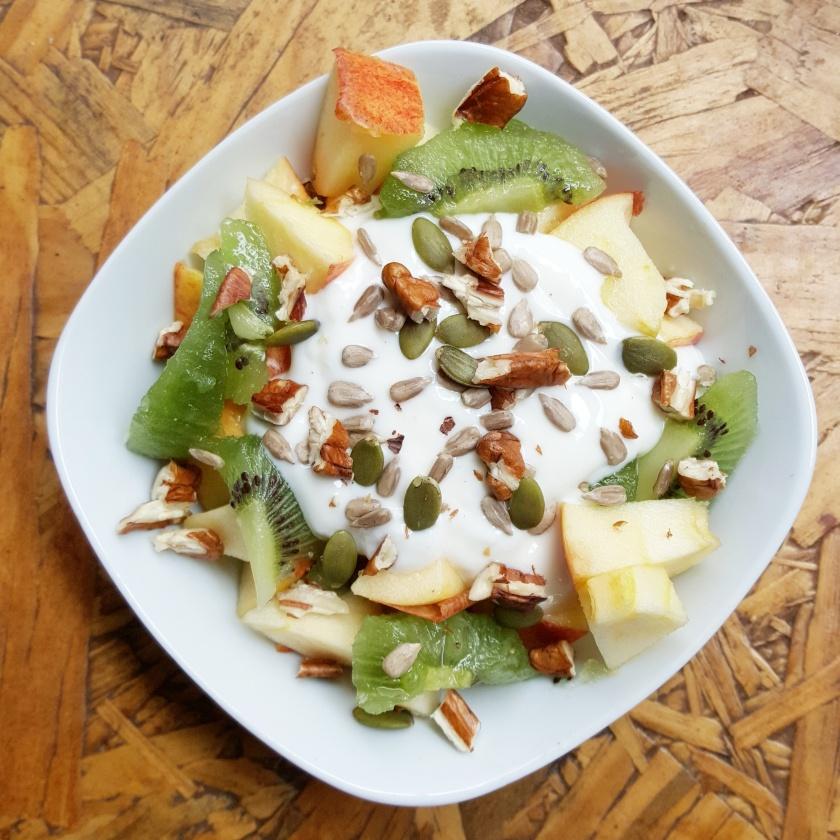 Fruit, Nut, Yoghurt, Breakfast, Delalicious