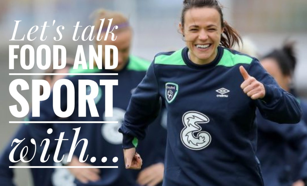 Let's talk food and sport with, Aine O'Gorman, Delalicious