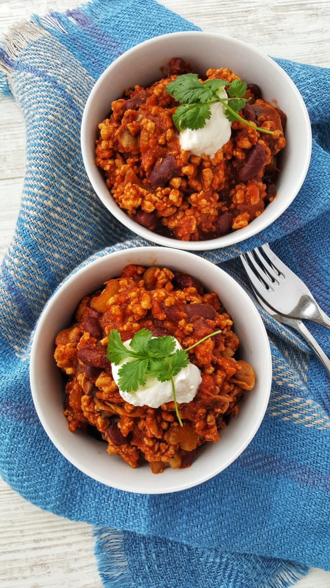 Smoky Turkey Chilli; Delalicious